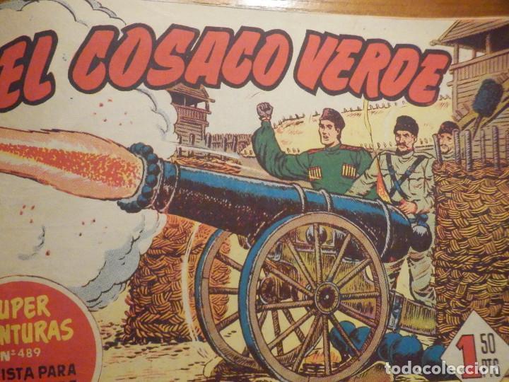 Tebeos: El Cosaco verde - Tomo del nº 1 al 36 + 69 y 70 - Encuadernados - Original - Bruguera - 60´s - Foto 6 - 240744930