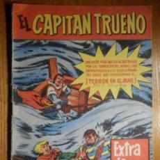 Tebeos: COMIC - EL CAPITÁN TRUENO - EXTRA DE VERANO - TERROR EN EL MAR - BRUGUERA - ORIGINAL. Lote 240747155