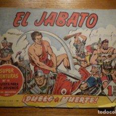 Livros de Banda Desenhada: COMIC - EL JABATO - NÚMERO, Nº 2 - ¡ DUELO A MUERTE ! - BRUGUERA - SUPER AVENTURAS 81 - ORIGINAL. Lote 240748605