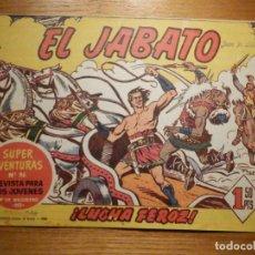 Livros de Banda Desenhada: COMIC - EL JABATO - NÚMERO, Nº 4- ¡ LUCHA FEROZ ! - BRUGUERA - SUPER AVENTURAS 86 - ORIGINAL. Lote 240748780