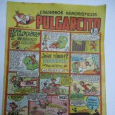 Tebeos: CUADERNOS HUMORISTICOS. PULGARCITO. Nº 90 HELIODORO UN NEGOCIO COLOSAL CORREO CERTIFICADO 5,5€. Lote 240832405
