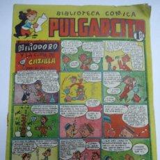 Tebeos: BIBLIOTECA COMICA. PULGARCITO. Nº 80. HELIODORO Y LA COPA DE CAZALLA -BRUGUERA EN BUEN ESTADO. Lote 240867035