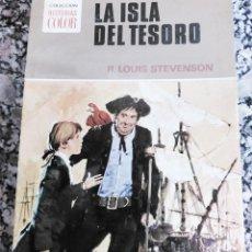 Tebeos: LA ISLA DEL TESORO R.L. STEVENSON BRUGUERA HISTORIA COLOR 1972 BOSCH PENALVA PASTA DURA CON DEFENSA. Lote 240950805