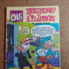 Livros de Banda Desenhada: COMIC DE OLE MORTADELO Y FILEMON EN DEL SERVICIO SECRETO DEL AÑO 1987 Nº 116 - M.4. Lote 240963150