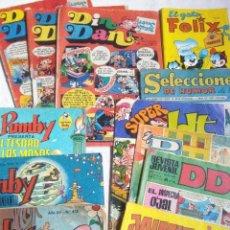 Livros de Banda Desenhada: ANTIGUOS COMICS JAIMITO,DDT,SUPER DDT,DIN DAN PUMBY,GATO FELIX. Lote 241002905