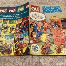 Tebeos: OLE Nº314 EL BOTONES SACARINO - 1 ªEDICION - MARZO 1986 - BRUGUERA. Lote 241013890