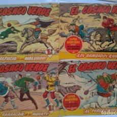 Tebeos: EL COSACO VERDE. Lote 241028690