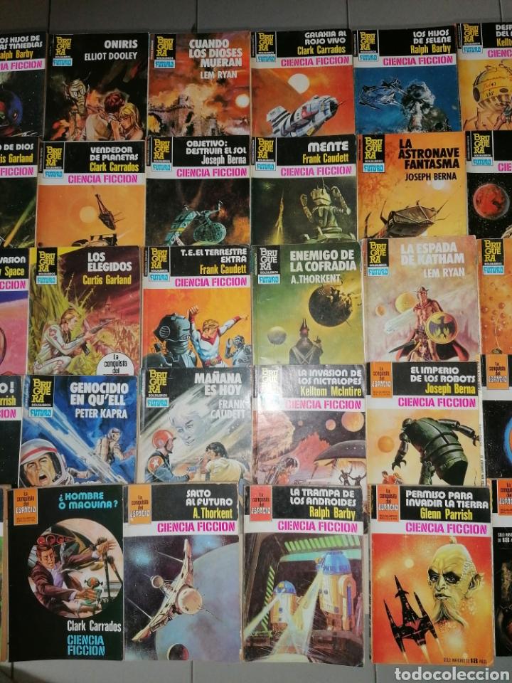 Tebeos: Lote de 68 novelas LA CONQUISTA DEL ESPACIO, BRUGUERA FUTURO y HÉROES DEL ESPACIO, ECSA. - Foto 4 - 241031215