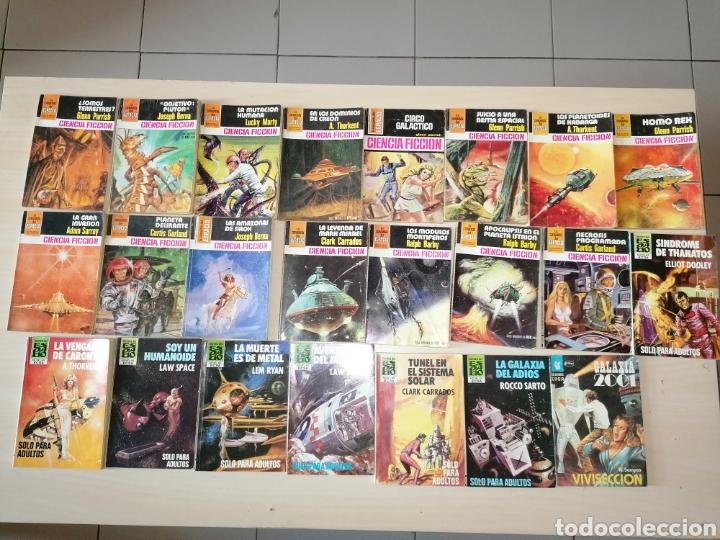 Tebeos: Lote de 68 novelas LA CONQUISTA DEL ESPACIO, BRUGUERA FUTURO y HÉROES DEL ESPACIO, ECSA. - Foto 6 - 241031215