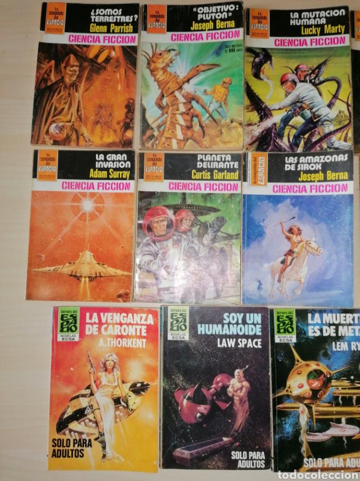 Tebeos: Lote de 68 novelas LA CONQUISTA DEL ESPACIO, BRUGUERA FUTURO y HÉROES DEL ESPACIO, ECSA. - Foto 7 - 241031215