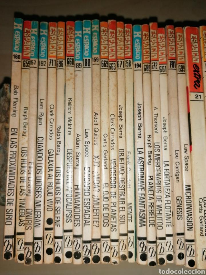 Tebeos: Lote de 68 novelas LA CONQUISTA DEL ESPACIO, BRUGUERA FUTURO y HÉROES DEL ESPACIO, ECSA. - Foto 11 - 241031215