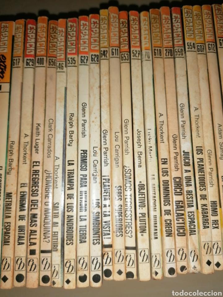 Tebeos: Lote de 68 novelas LA CONQUISTA DEL ESPACIO, BRUGUERA FUTURO y HÉROES DEL ESPACIO, ECSA. - Foto 13 - 241031215