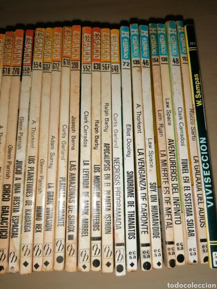 Tebeos: Lote de 68 novelas LA CONQUISTA DEL ESPACIO, BRUGUERA FUTURO y HÉROES DEL ESPACIO, ECSA. - Foto 14 - 241031215