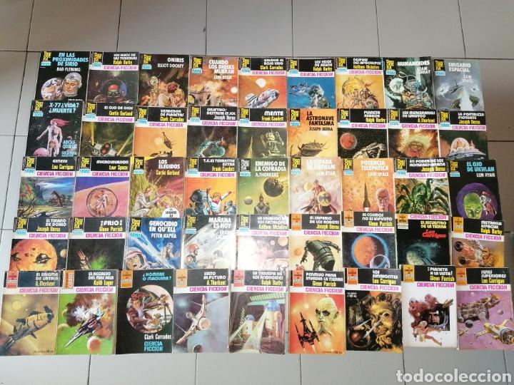 LOTE DE 68 NOVELAS LA CONQUISTA DEL ESPACIO, BRUGUERA FUTURO Y HÉROES DEL ESPACIO, ECSA. (Tebeos y Comics - Bruguera - Otros)