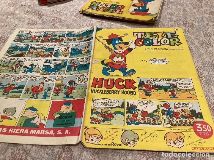 TELE COLOR Nº 16 - 29 ABRIL 1963- BRUGUERA (Tebeos y Comics - Bruguera - Tele Color)
