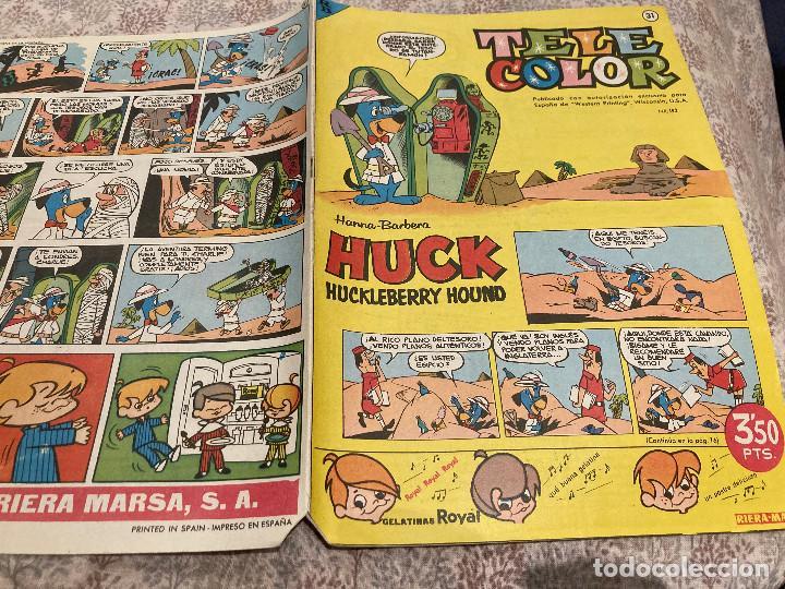 TELE COLOR Nº31 - 12 DE AGOSTO 1963- BRUGUERA (Tebeos y Comics - Bruguera - Tele Color)