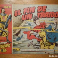 Tebeos: COMIC - EL CAPITAN TRUENO NÚMERO, Nº 4 - ¡ EL FIN DE UN TRAIDOR ! - BRUGUERA 1956 - ORIGINAL -. Lote 241088860