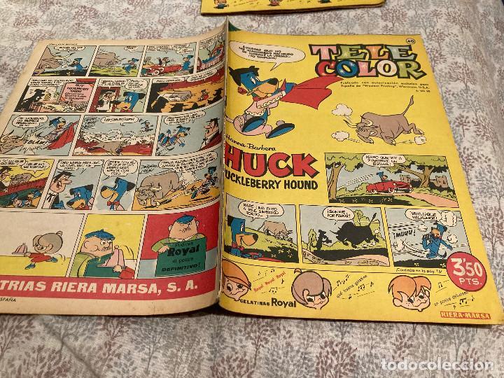 TELE COLOR Nº40 - 14 DE OCTUBRE 1963- BRUGUERA (Tebeos y Comics - Bruguera - Tele Color)