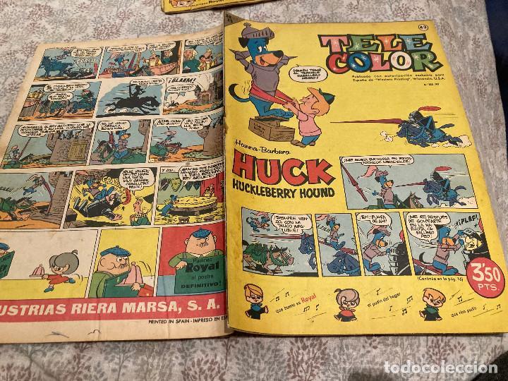 TELE COLOR Nº43 - 4 DE NOVIEMBRE 1963- BRUGUERA (Tebeos y Comics - Bruguera - Tele Color)