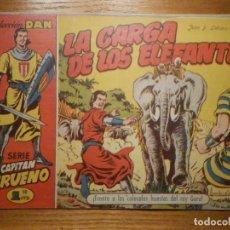 Tebeos: COMIC - EL CAPITAN TRUENO NÚMERO, Nº 7 - ¡ LA CARGA DE LOS ELEFANTES ! - BRUGUERA 1956 - ORIGINAL -. Lote 241092365