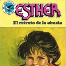 """Tebeos: JOYAS LITERARIAS FEMENINAS Nº 100. ESTHER """"EL RETRATO DE LA ABUELA"""". 1984. ED. BRUGUERA. Lote 241109430"""