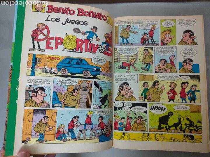 Tebeos: SUPER HUMOR BENITO BONIATO N°2 1985 BRUGUERA 1°EDICION - Foto 5 - 265394604