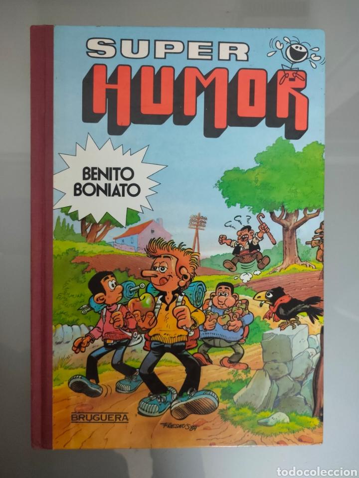 SUPER HUMOR BENITO BONIATO N°2 1985 BRUGUERA 1°EDICION (Tebeos y Comics - Bruguera - Super Humor)