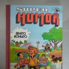 Tebeos: SUPER HUMOR BENITO BONIATO N°2 1985 BRUGUERA 1°EDICION. Lote 265394604