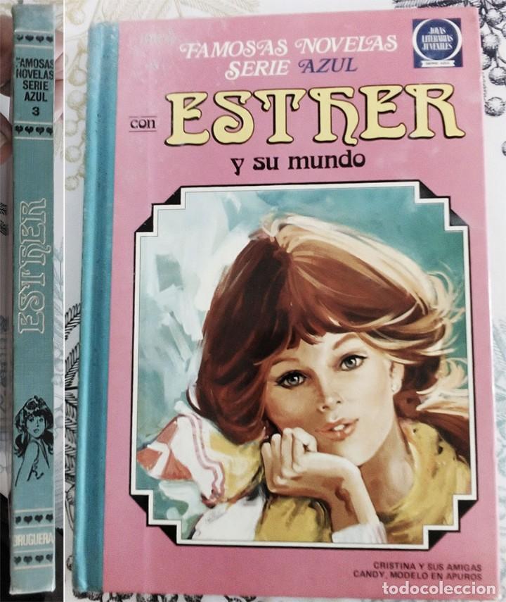 ESTHER Y SU MUNDO BRUGUERA 1981 TOMO AZUL N.º 3 (Tebeos y Comics - Bruguera - Esther)