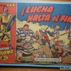 Tebeos: COMIC - EL CAPITAN TRUENO NÚMERO, Nº 37 - ¡ LUCHA HASTA EL FIN !, BRUGUERA 1957, ORIGINAL. Lote 241232415