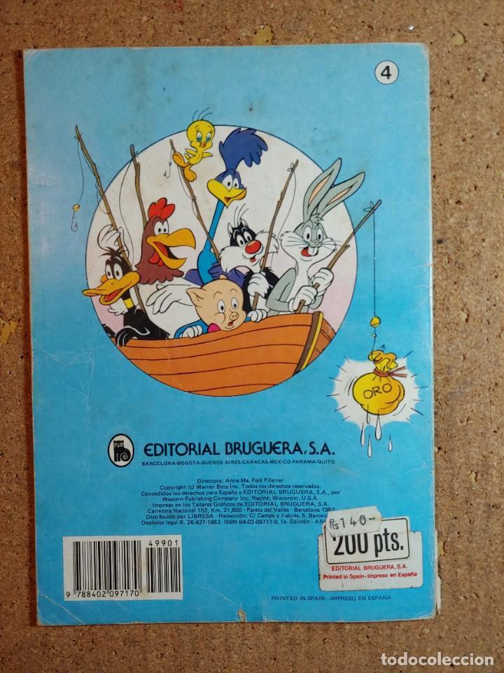 Tebeos: COMIC DE OLE BUGS BUNNY Y SU PANDA EN TRAVESURAS DEL AÑO 1983 Nº 4 - Foto 2 - 241237230