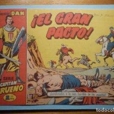 Tebeos: COMIC - EL CAPITAN TRUENO NÚMERO, Nº 42 - ¡ EL GRAN PACTO !, BRUGUERA 1957, ORIGINAL. Lote 241275740