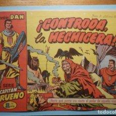 Tebeos: COMIC - EL CAPITAN TRUENO NÚMERO, Nº 43 - ¡ CONTRODA LA HECHICERA !, BRUGUERA 1957, ORIGINAL. Lote 241276565