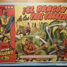 Tebeos: COMIC - EL CAPITAN TRUENO NÚMERO, Nº 44 - ¡ EL DRAGÓN DE LAS TRES CABEZAS !, BRUGUERA 1957, ORIGINAL. Lote 241277435