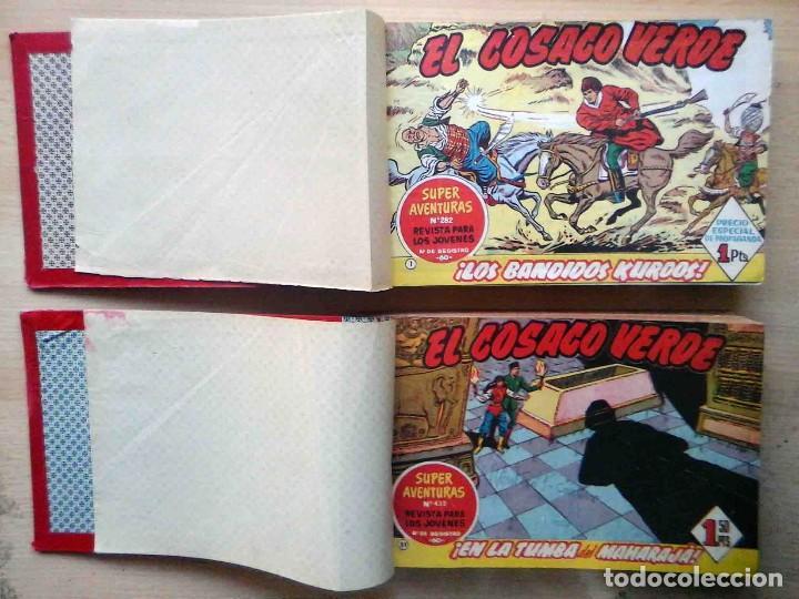 EL COSACO VERDE ORIGINAL BRUGUERA 1960. ENCUADERNADO EN 2 TOMOS. Nº 1 AL 100 . PERFECTO. (Tebeos y Comics - Bruguera - Cosaco Verde)