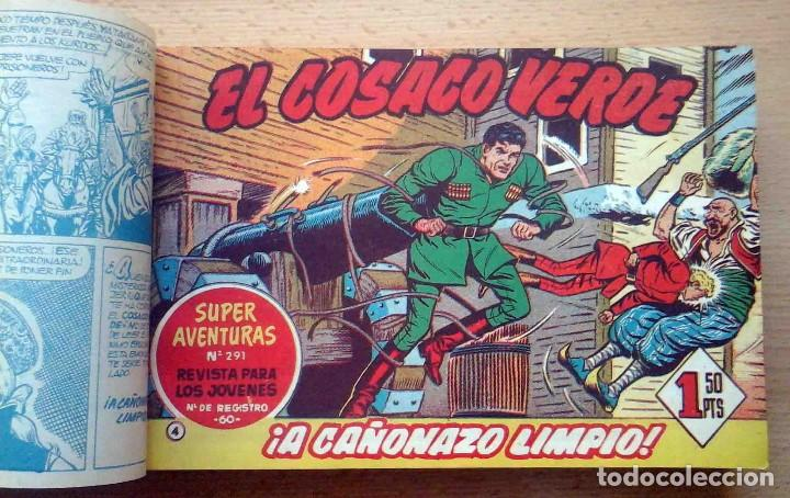 Tebeos: El Cosaco Verde Original Bruguera 1960. Encuadernado en 2 tomos. Nº 1 al 100 . Perfecto. - Foto 3 - 241328945