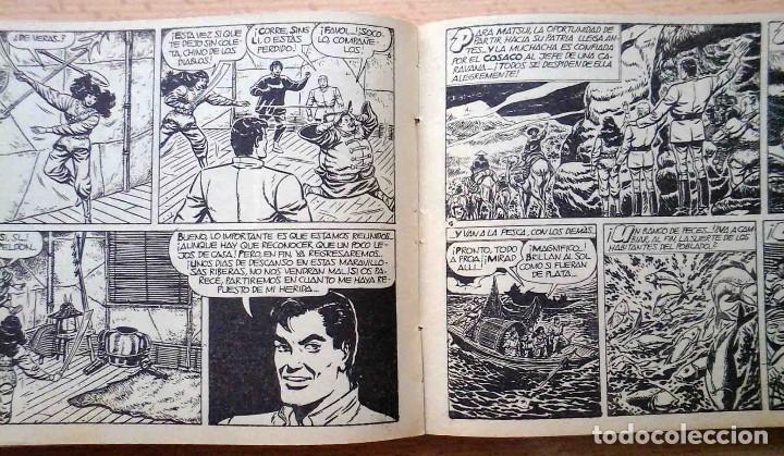 Tebeos: El Cosaco Verde Original Bruguera 1960. Encuadernado en 2 tomos. Nº 1 al 100 . Perfecto. - Foto 4 - 241328945
