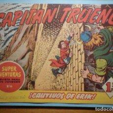 Tebeos: COMIC - EL CAPITAN TRUENO NÚMERO, Nº 65 - ¡ CAUTIVOS DE ERIK !, BRUGUERA 1957, ORIGINAL. Lote 241377040