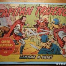 Tebeos: COMIC - EL CAPITAN TRUENO NÚMERO, Nº 66 - ¡ JAQUE A ERIK !, BRUGUERA 1957, ORIGINAL. Lote 241378140