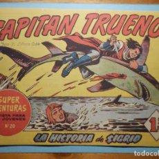 Tebeos: COMIC - EL CAPITAN TRUENO NÚMERO, Nº 69 - ¡ LA HISTORIA DE SIGRID !, BRUGUERA 1958, ORIGINAL. Lote 241380000