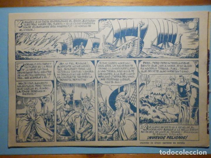 Tebeos: COMIC - EL CAPITAN TRUENO NÚMERO, Nº 69 - ¡ La Historia de Sigrid !, BRUGUERA 1958, ORIGINAL - Foto 2 - 241380000