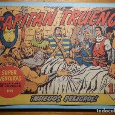 Tebeos: COMIC - EL CAPITAN TRUENO NÚMERO, Nº 70 - ¡ NUEVOS PELIGROS !, BRUGUERA 1958, ORIGINAL. Lote 241381270