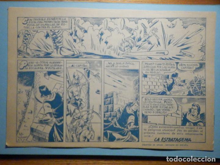 Tebeos: COMIC - EL CAPITAN TRUENO NÚMERO, Nº 73 - ¡ Alianza Siniestra !, BRUGUERA 1958, ORIGINAL - Foto 2 - 241383785