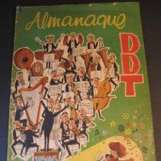 Tebeos: DDT (1951, BRUGUERA) -CONTRA LAS PENAS- EXTRA 29 · XII-1964 · ALMANAQUE DDT 1965. Lote 241386595
