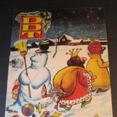 Tebeos: DDT (1951, BRUGUERA) -CONTRA LAS PENAS- EXTRA 13 · XII-1960 · ALMANAQUE PARA 1961. Lote 241387340