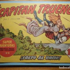 Tebeos: COMIC - EL CAPITAN TRUENO NÚMERO, Nº 68 - ¡ SALTO AL VACÍO !, BRUGUERA 1958, ORIGINAL. Lote 241388140