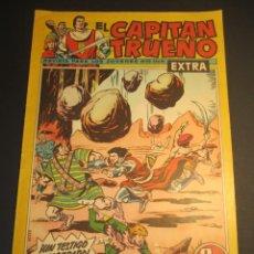 Tebeos: CAPITAN TRUENO, EL (1960, BRUGUERA) -EXTRA- 153 · 17-XII-1962 · ¡UN TESTIGO INESPERADO!. Lote 241601155