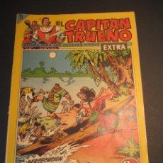 Tebeos: CAPITAN TRUENO, EL (1960, BRUGUERA) -EXTRA- 167 · 25-III-1963 · ¡PERSECUCIÓN EN LA SELVA!. Lote 241601275