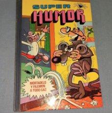Livros de Banda Desenhada: SUPER HUMOR XII MORTADELO Y FILEMON DE BRUGUERA EN MUY BUEN ESTADO AÑO 1978. Lote 241876015