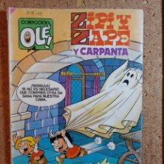 Livros de Banda Desenhada: COMIC DE OLE ZIPI Y ZAPE CON CARPANTA EN EL TERROR DEL MAS ALLA DEL AÑO 1984 Nº 292. Lote 241903230